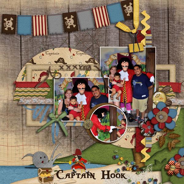 David and Captain Hook