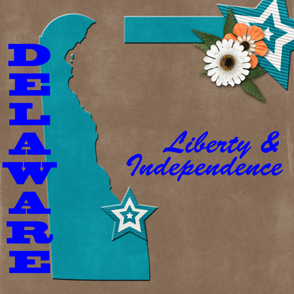 Delaware State Motto and Colors