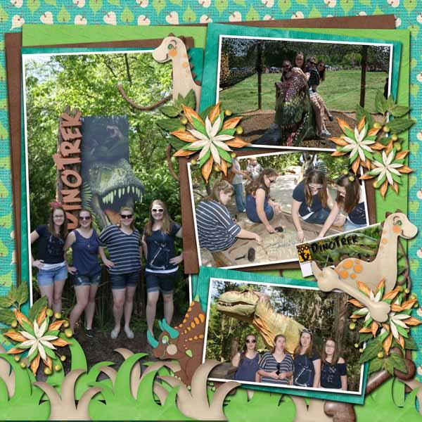 Dino Trek Nashville Zoo