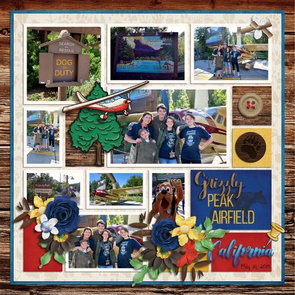 Disneys CA Adventure Grizzly Airfield
