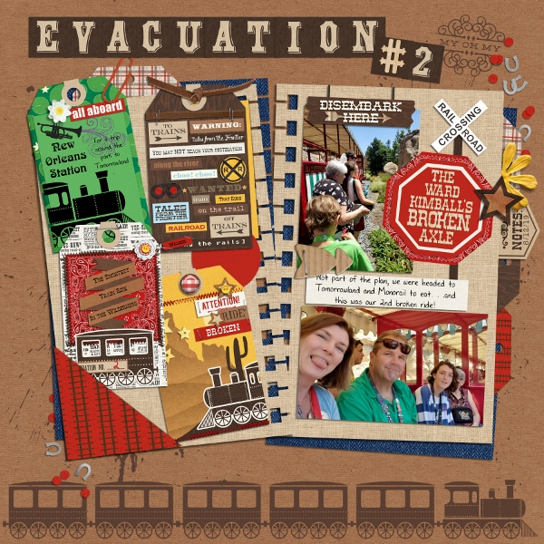Disney - Evacuation 2