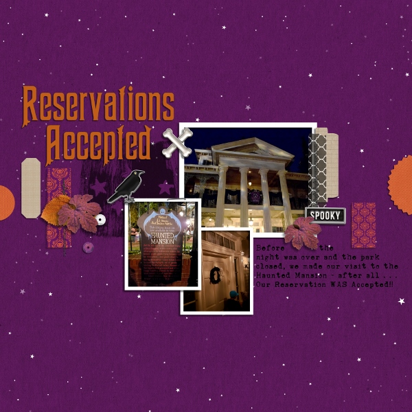 Disney - Reservation Accepted