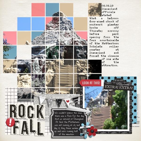 Disney - Rock Fall