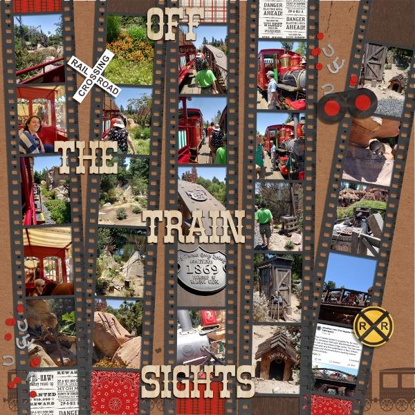 Disney - Off the Train Sights