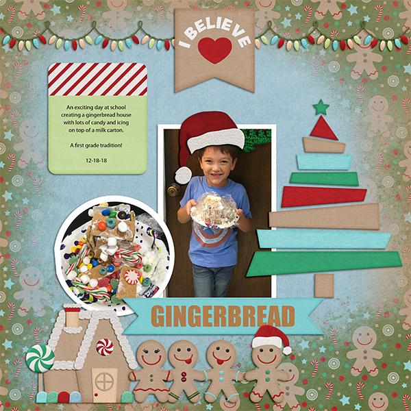 Gingerbread House- first grade