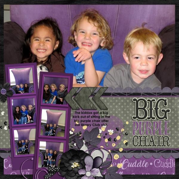 BIG Purple Chair