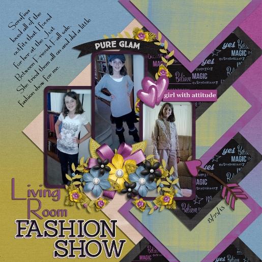 Living Room Fashion Show