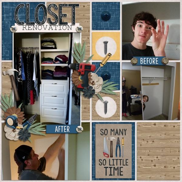 Closet Renovation