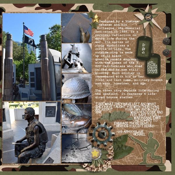 Vietnam Memorial Right