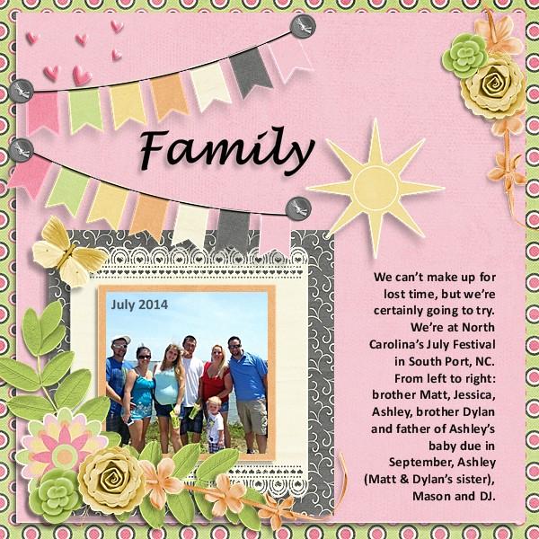 Family July 2014