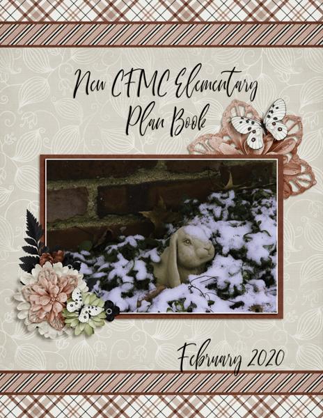 February Plan Book
