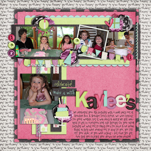 Kaylee's FOUR! page 1