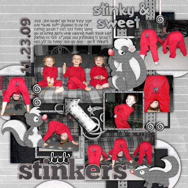 lil' stinkers!
