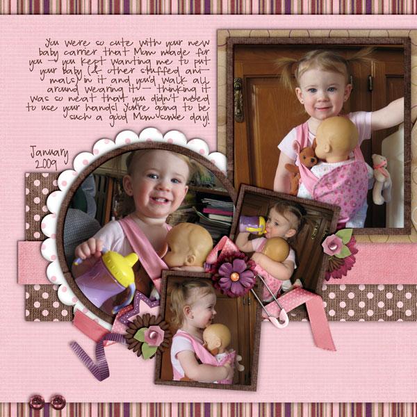 Kaylee & her baby