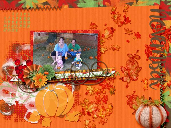 Pumpkin Calendar