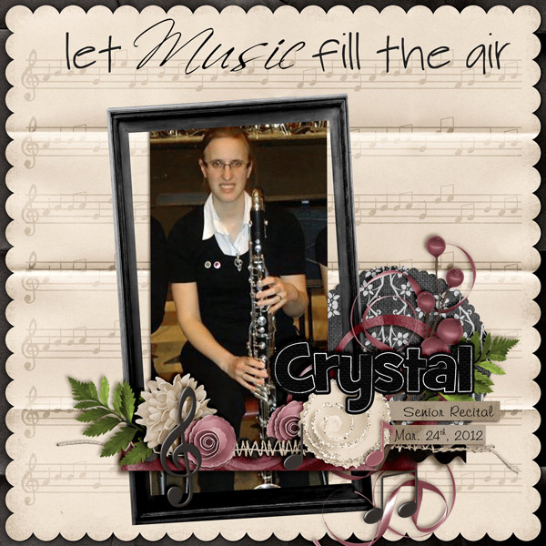 Let Music fill the air!