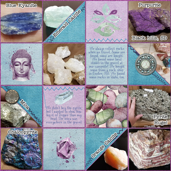 Rocks from our trip