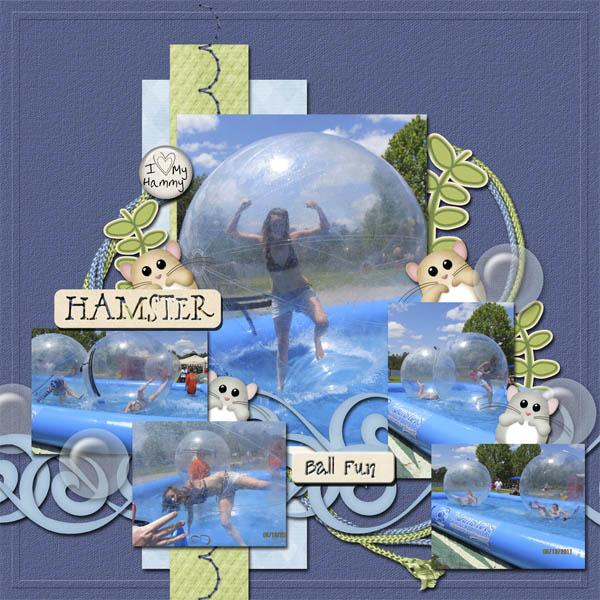 Hampster Ball Fun