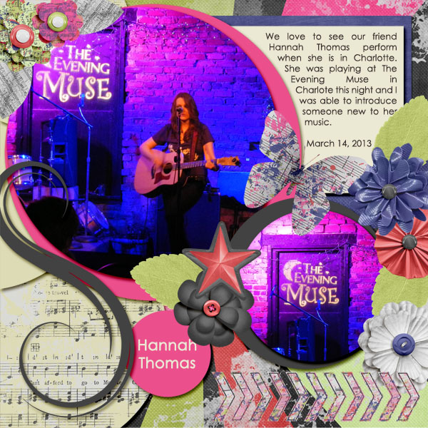 iNSD Chat and Scrap With a Template Challenge