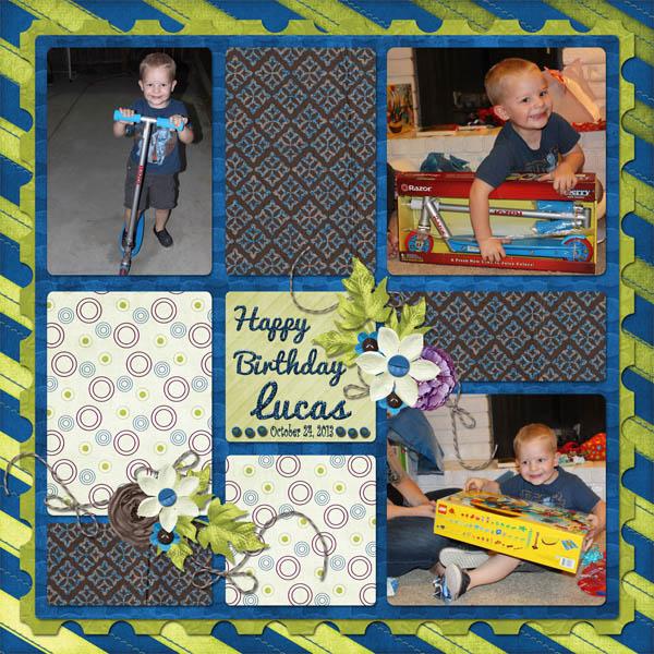 Happy Birthday Lucas