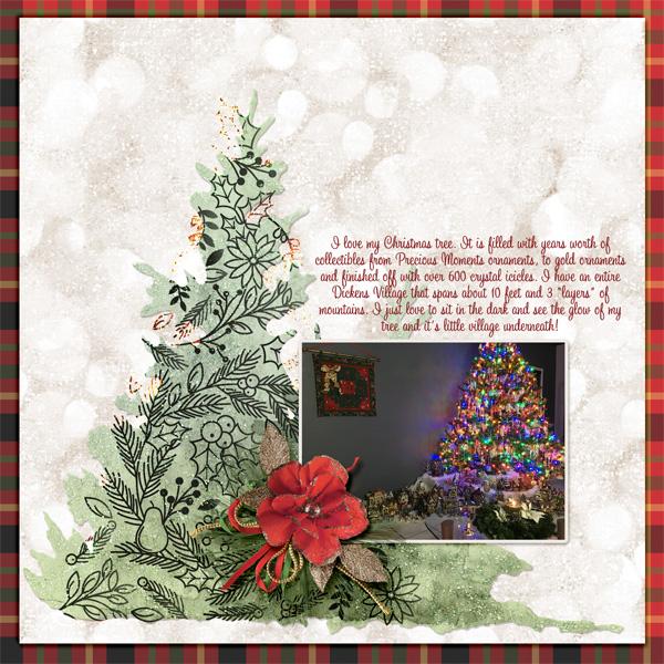 I Love My Christmas Tree