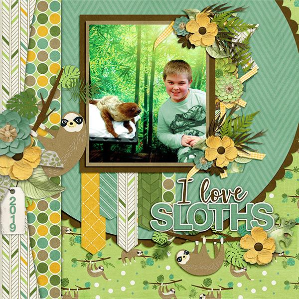 I Love Sloths