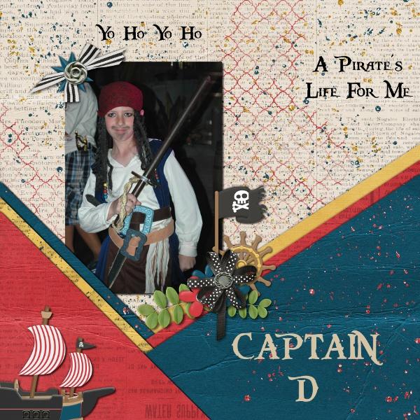 Captain D