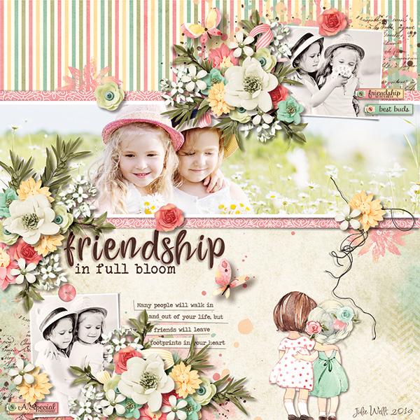 friendship in full bloom
