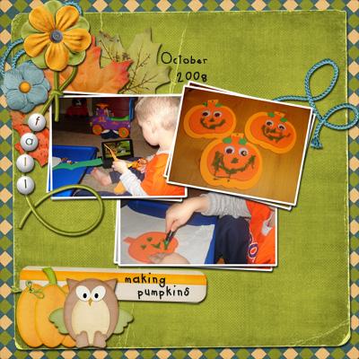 making pumpkins