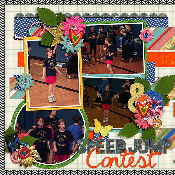Speed Jump Contest - Left
