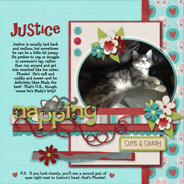Justice, the Kitty