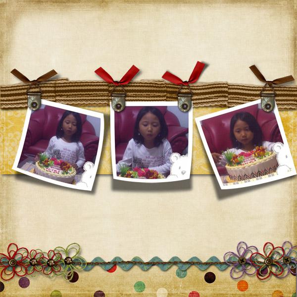 Putri's 6th birthday