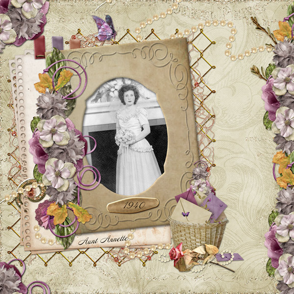 Vintage Frame-Lost Treasures