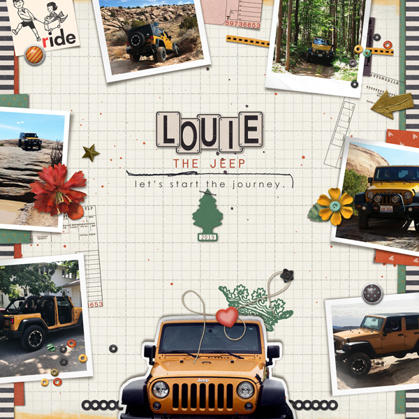 Louie The Jeep | 2018