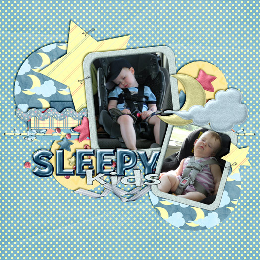Sleepy kids!