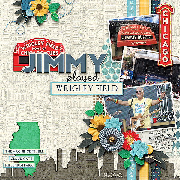 Jimmy at Wrigley Field