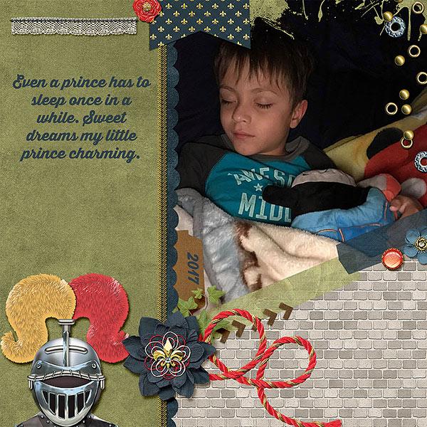 Even a Prince has to sleep