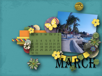 February 2014 Desktop Challenge - March Desktop