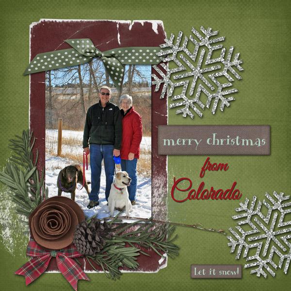 Merry Christmas from Colorado