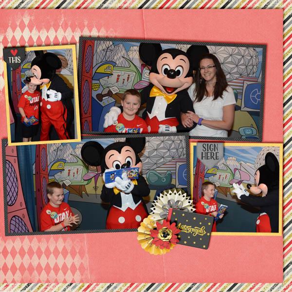 Mickey Autographs