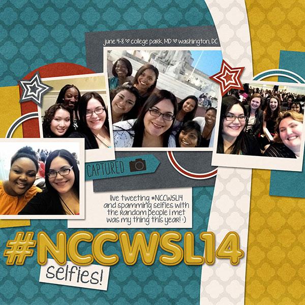 #NCCWSL14 selfies!