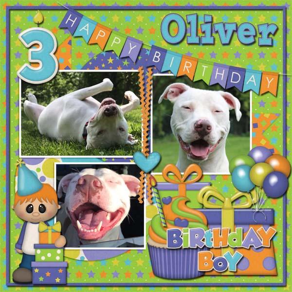 Oliver Bday