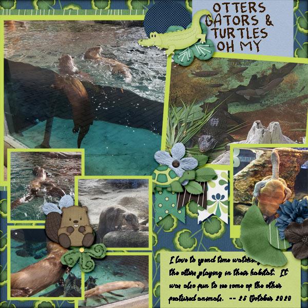 Otters, Gators, and Turtles - Mote Marine