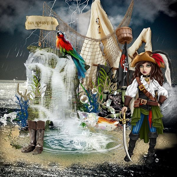 The pirates and the mystery of the fountain