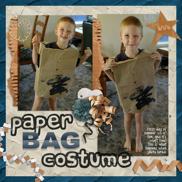 Paper Bag Costume
