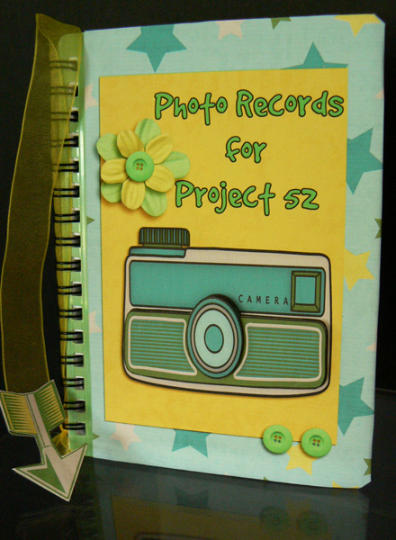 Photo Record Book for Project 52
