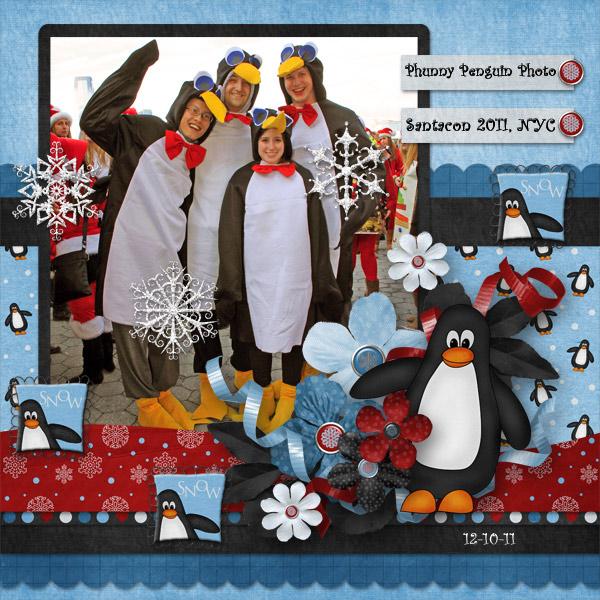 Phunny Penguin Photo
