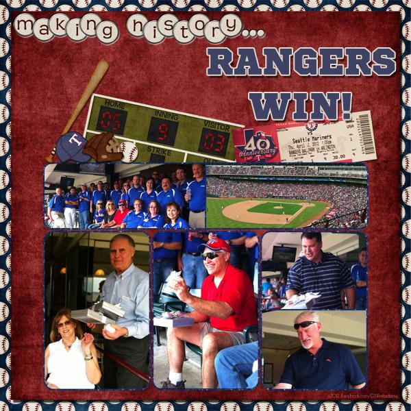 making history... RANGERS WIN!