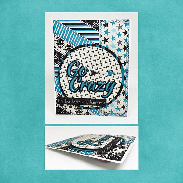 Go Crazy Encouragement card