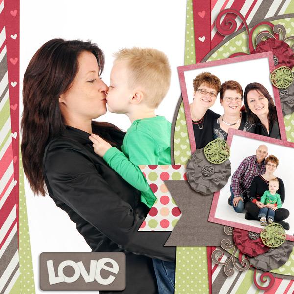 Jen C Designs - Loved Up / Aprilisa Designs - PP45 TP2